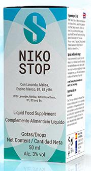 Nikostop Antistress - effetti collaterali - controindicazioni