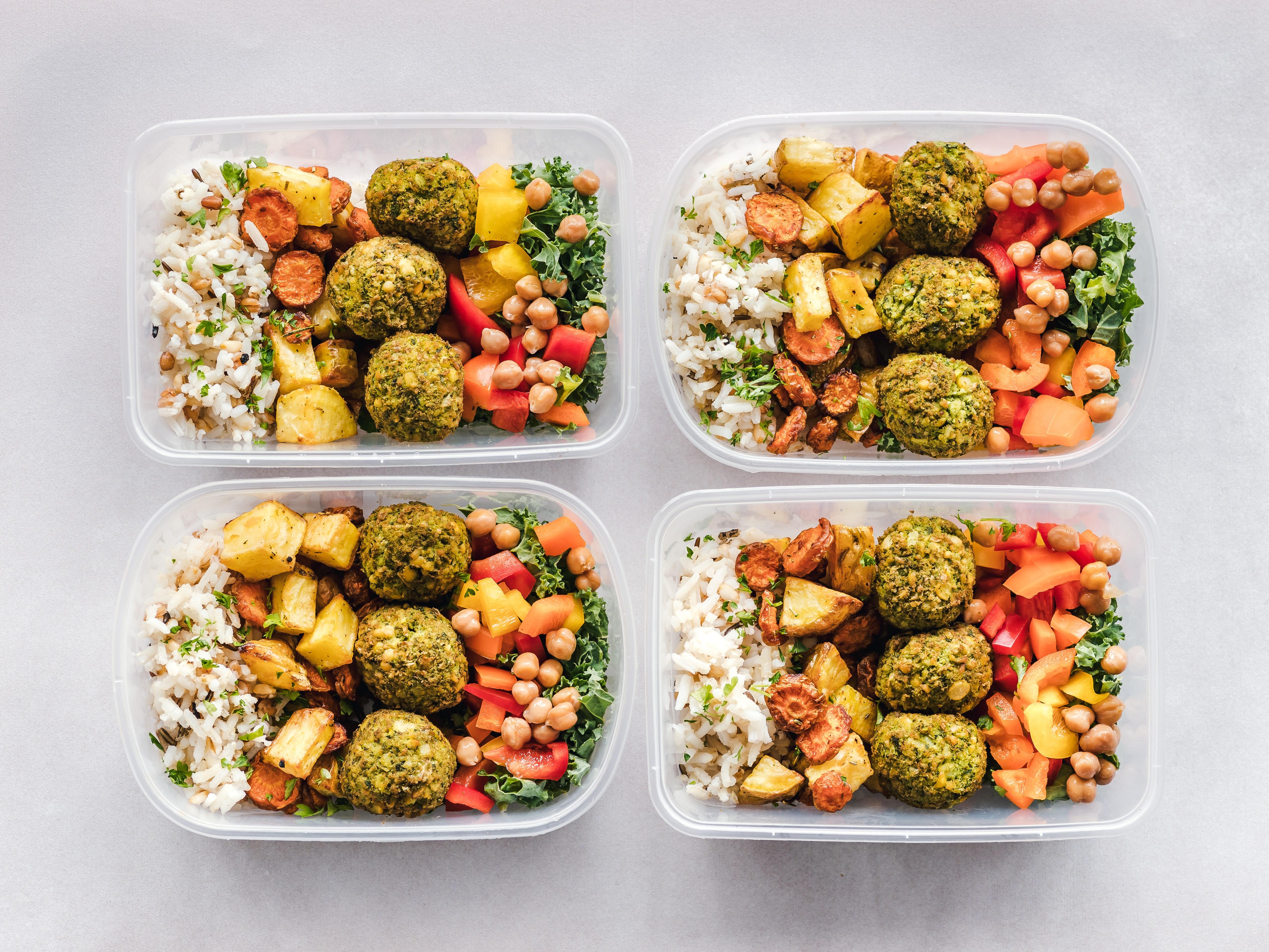 una dieta vegana equilibrata