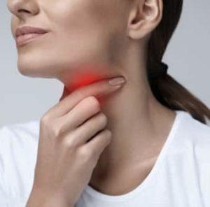 Sintomi dell'infiammazione alla gola